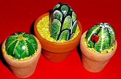 Decora la tua casa con dei sassi cactus decoraci n de for Decora la tua casa