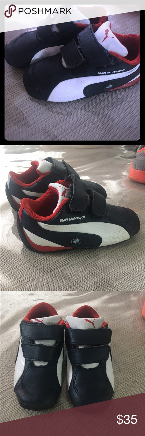844c7710c69 Puma BMW Motorsport sneakers Puma BMW baby toddler sneakers. Barely Used