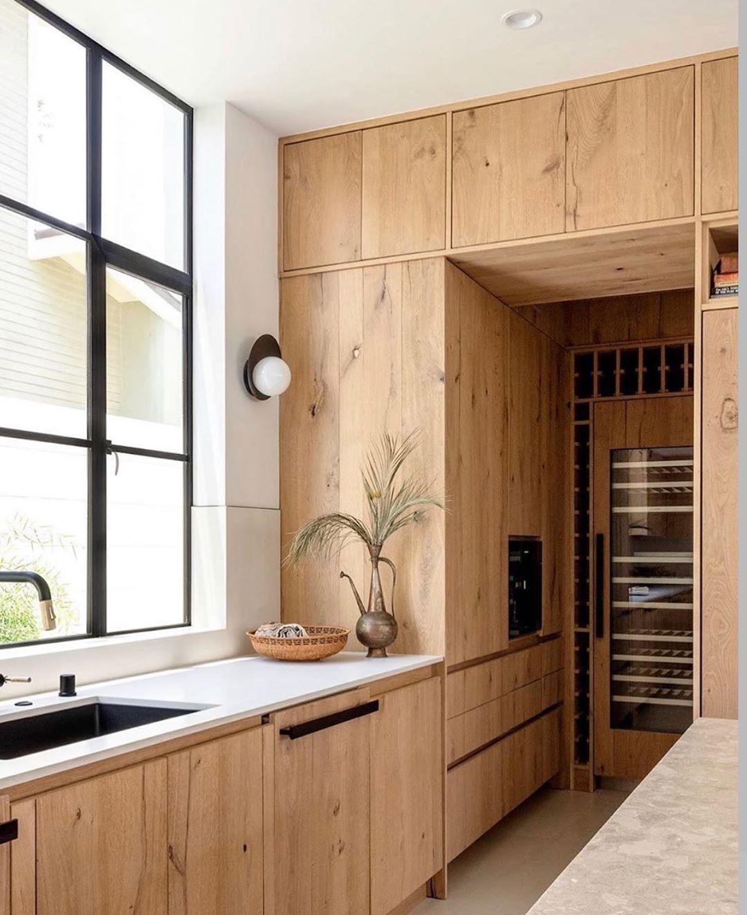3 514 Likes 54 Comments Cedar Moss Cedarandmoss On Instagram Unbelievably Beautiful Design By Kuskin In 2020 Kitchen Interior Loft Kitchen White Oak Kitchen