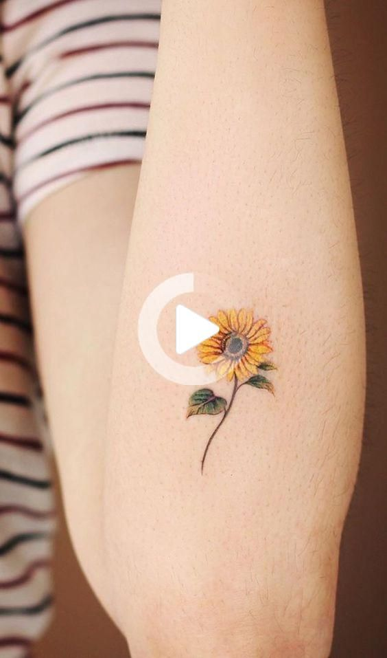 Photo of 50 The Sunflower Tattoo Most Worthy Of Trying 2020 – 247day