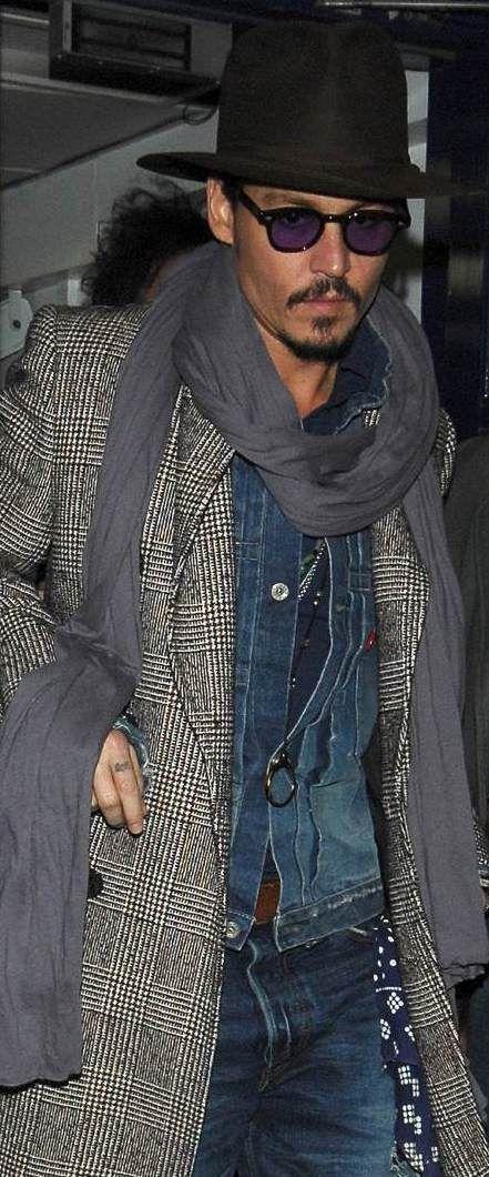 ZUNSHIKO Johnny Depps Cool Style