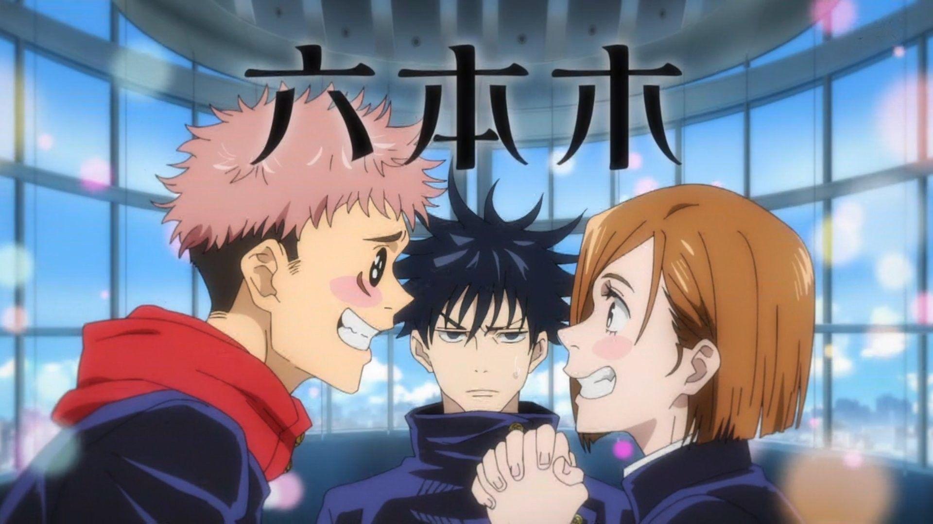 Kugisaki Nobara X Itadori Jujutsu Anime Aesthetic Anime