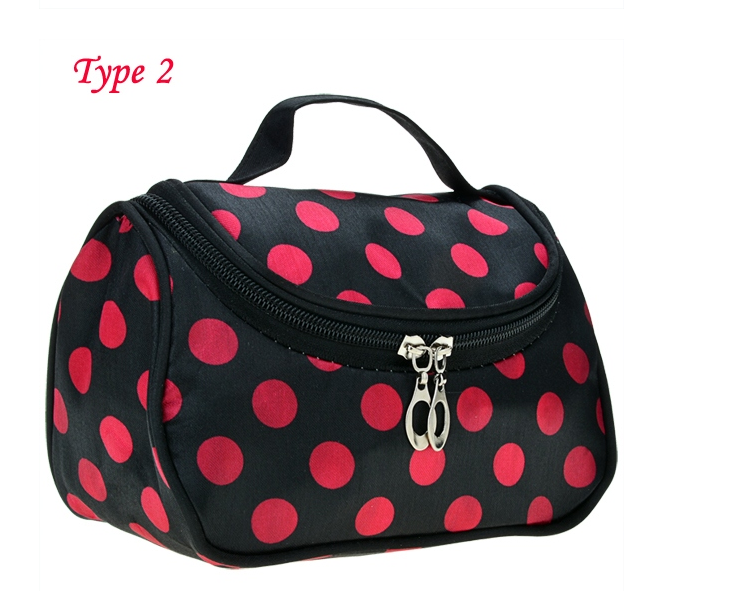 Women's Travel Makeup Cosmetic Bag Purse Handbag Fashion Bag
