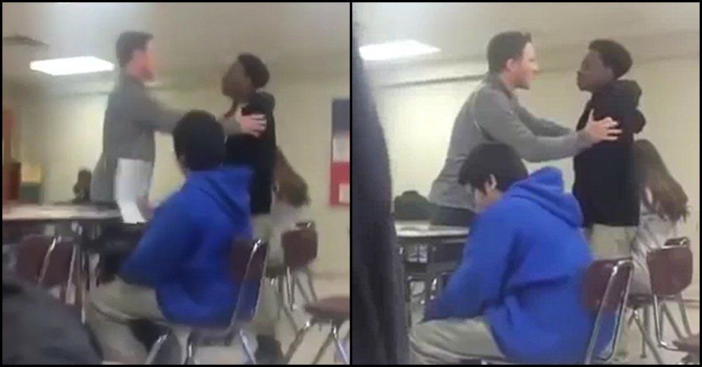 This Teacher Turned His Student's Meltdown Into A Truly Touching Moment