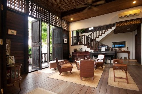 Tropical Living Room In Malaysia Paint Color Modern Kampung House Premier Property And Real Estate Portal
