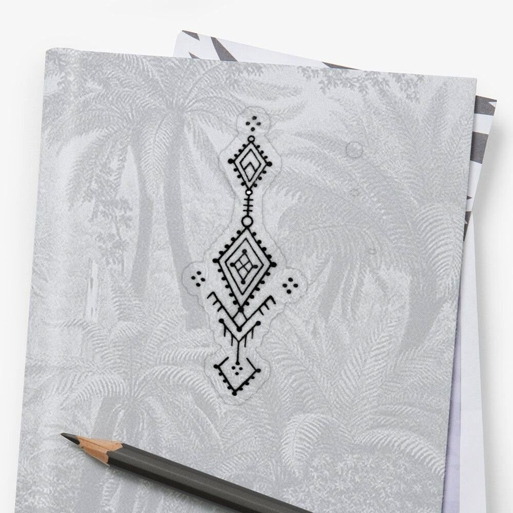 Tattoo Transparent Sticker by Abdenacer  Get my art printed on awesome products Support me at Redbubble  Geometric Tattoo Transparent Sticker by Abdenacer  Get my art pri...