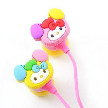 Imagen de Hello Kitty auriculares: Amor y lindo