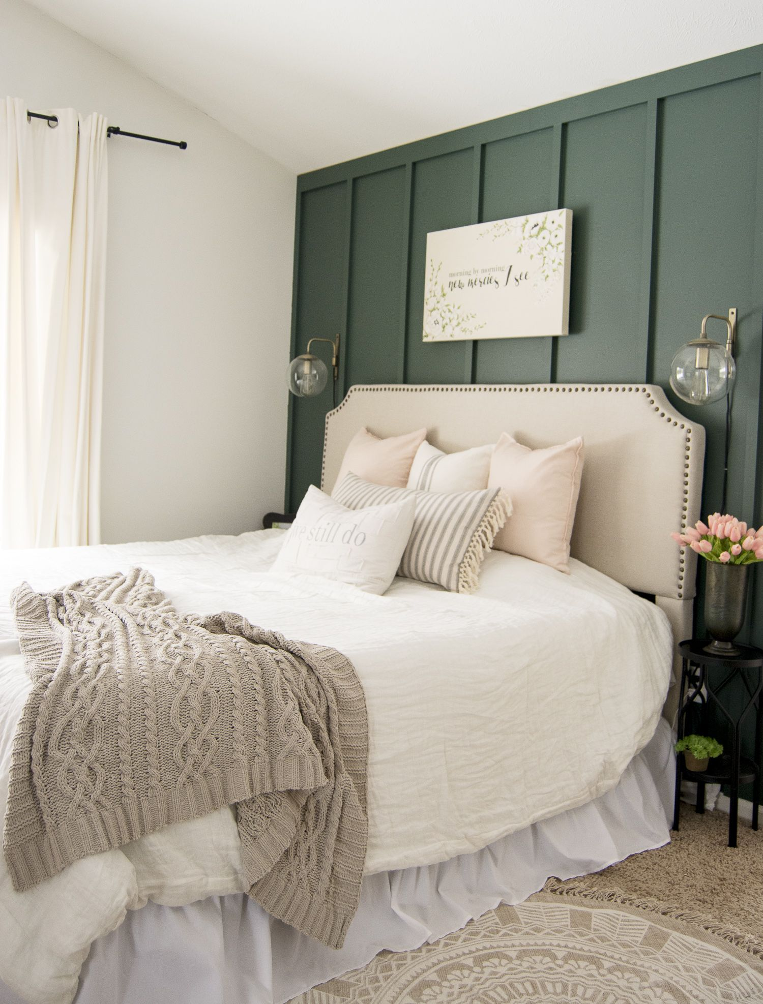 Key Elements of a Modern Farmhouse Bedroom #modernfarmhousestyle