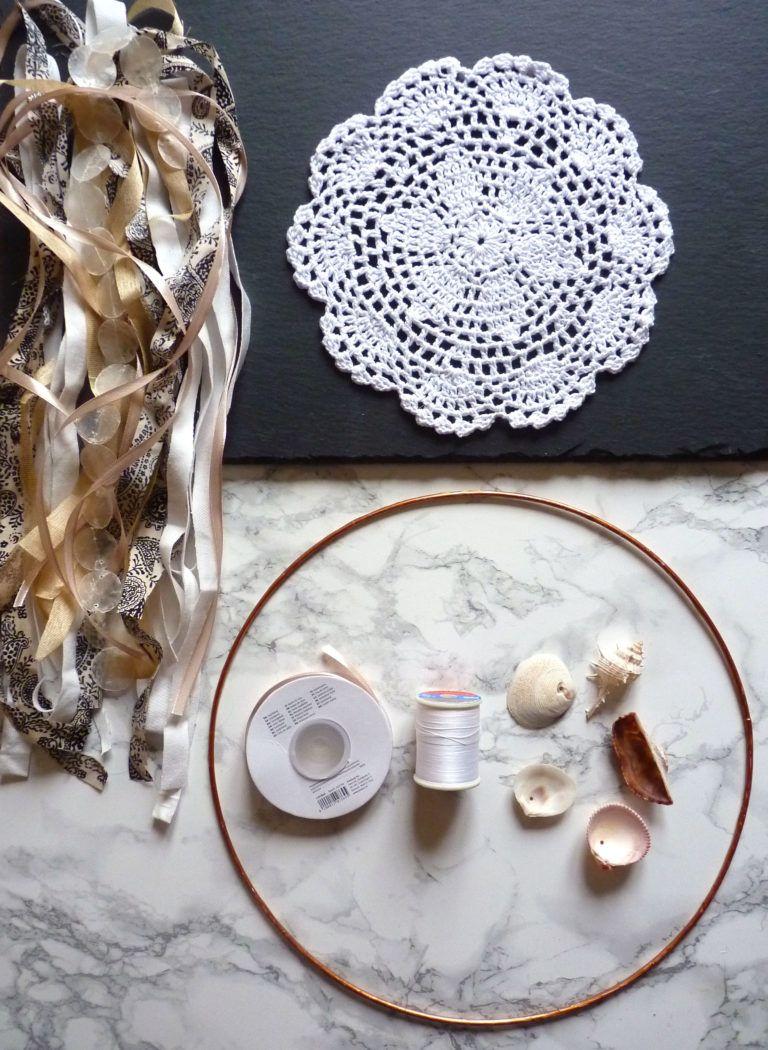 Traumfänger basteln: Boho DIY Traumfänger für dein Zuhause selbermachen