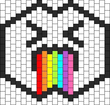 Puking Rainbows Mask Bead Pattern Beads And Raves Pinterest Inspiration Kandi Mask Patterns