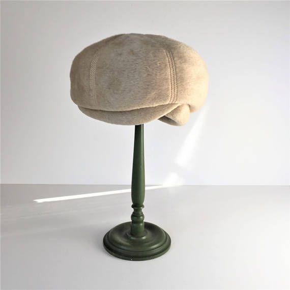 d6b0b94d31314 1960s Mod Ladies Hat Vintage Marche Italy Bubble Hat Faux