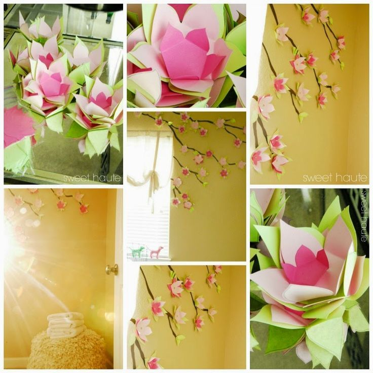 Cherry Blossom Wall Decor | Cherry blossoms, Wall decorations and ...