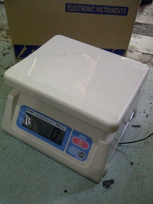 Harga Timbangan Digital Merk And Type Sk Kapasitas 5kg 10kg 30kg