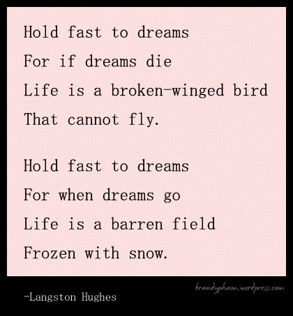 """""""Dreams"""" by Langston Hughes"""