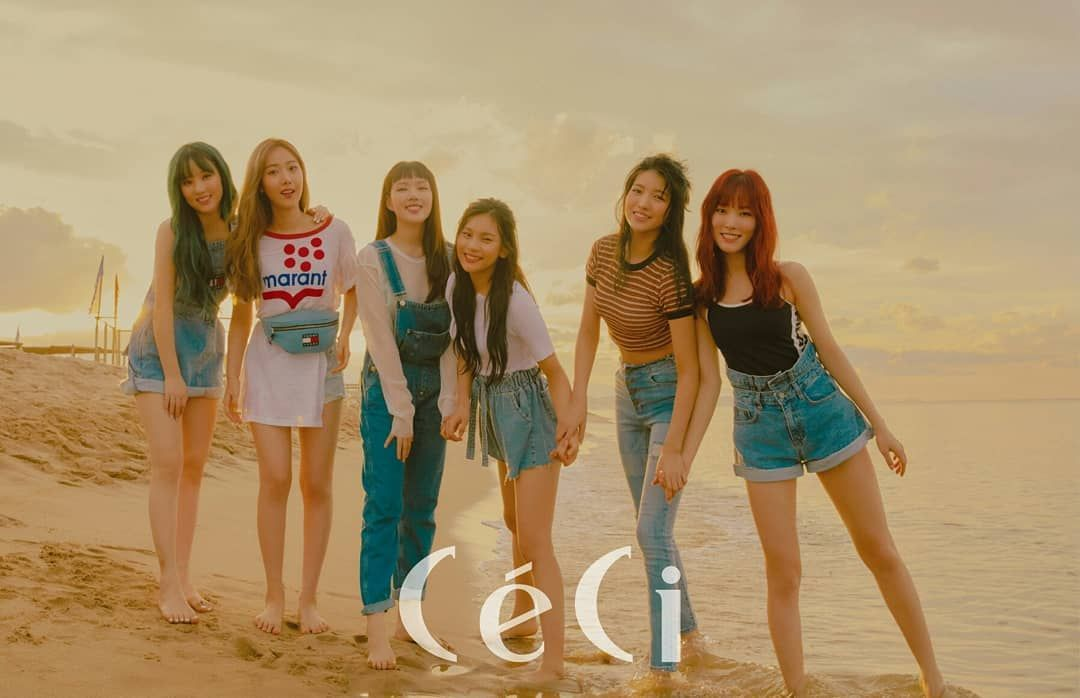 "[🦊🐥🐰🐶🐱🐹] on Instagram: ""Gfriend Photo For Ceci 2018 Issue💕 ~_~ Sowon🍭Yerin🍭Eunha🍭 ---------------- ---------------- ~_~ Sinb🍭Yuju🍭Umji🍭 ----------------…"""