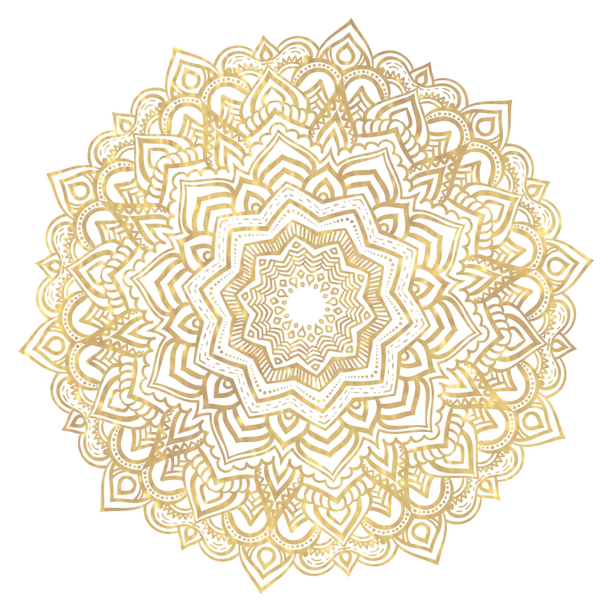 sora+gold+mandala+semi+transparent.png (2000×2000) | Seni, Undangan