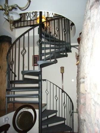 Rod Iron Staircases | Wrought Iron Spiral Staircase,indoor Stair S5 China  (Mainland)