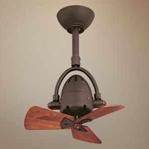 Another small ceiling fan idea for the kitchen. Small fan ...