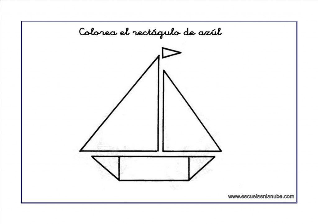 Historias De Las Formas Geometricas El Rectangulo Dibujos De Figuras Geometricas Figuras Con Tangram Figuras Geometricas Para Preescolar