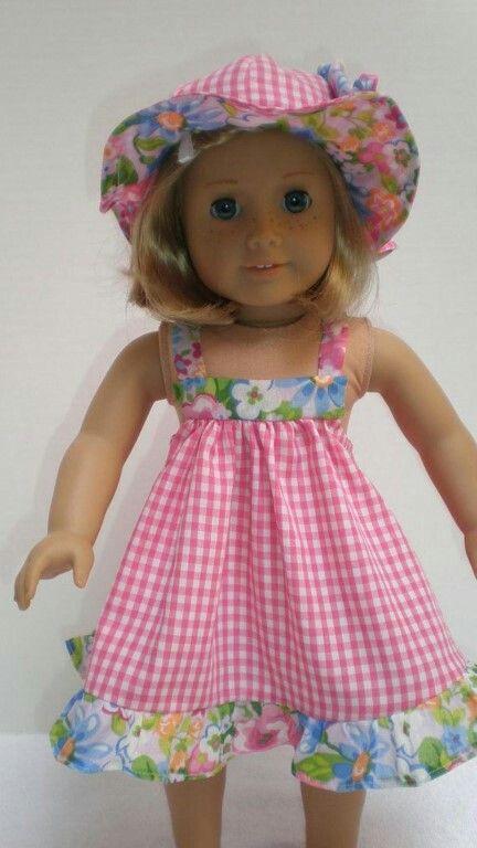 no pattern source given | 18 inch dolls | Pinterest | Puppenkleider ...