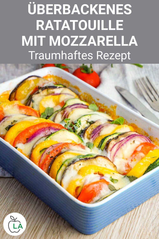Ratatouille Rezept - Vegetarisches Low Carb Abendessen zum Abnehmen