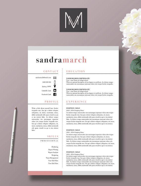 Profesional reanudar la plantilla 2 página por StudioMTemplates - how to get a resume template on word