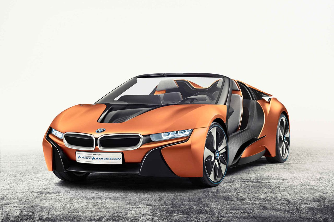 Bmw Previews New Technologies With Two I8 Concepts Bmw I Bmw Concept Bmw Concept Car