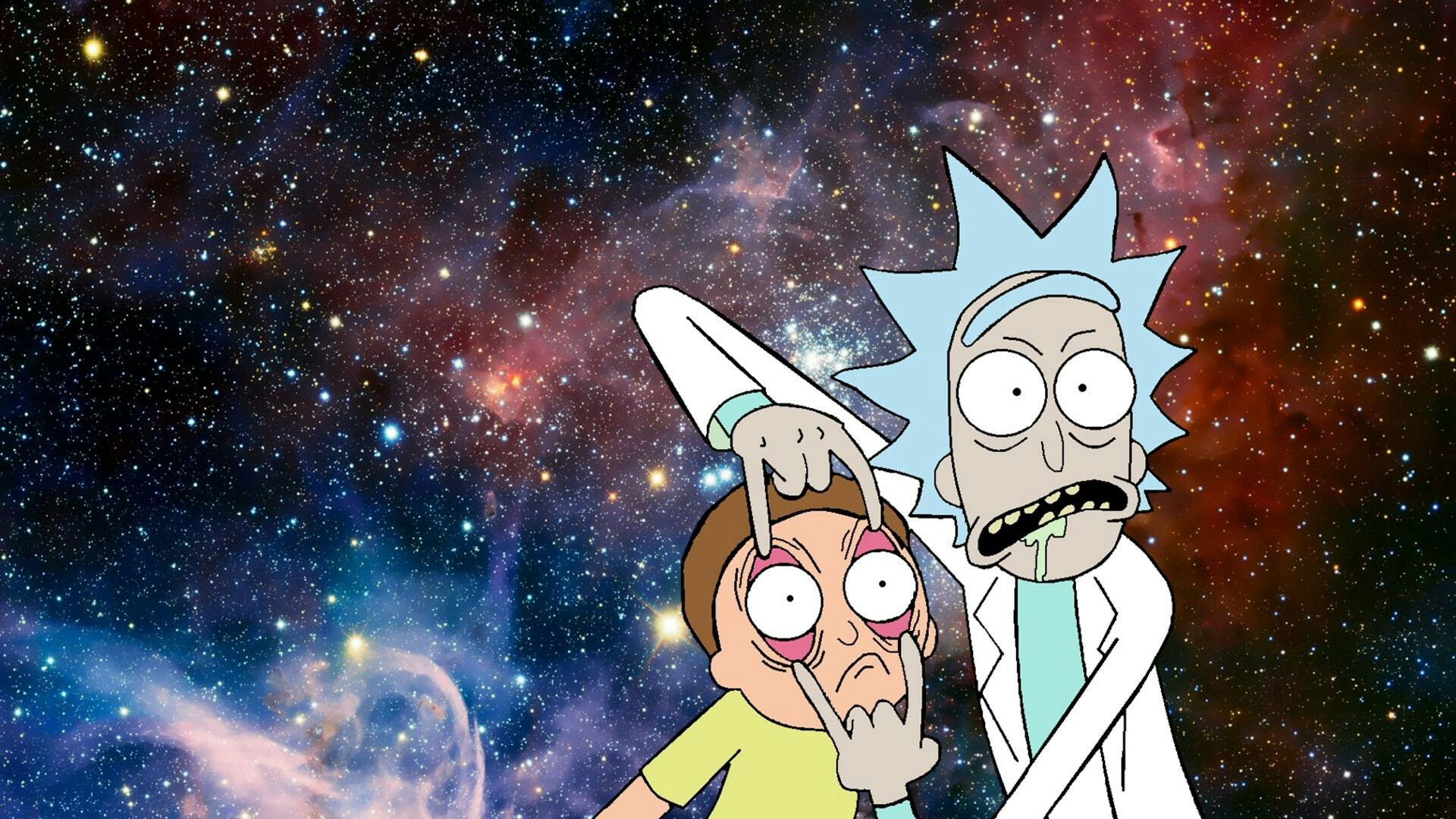 Rick and Morty Wallpaper Animated TV Series Pinterest