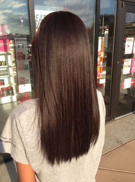 New Hair Medium Length Dark Brown Waves 37 Ideas Brown Hair Dye