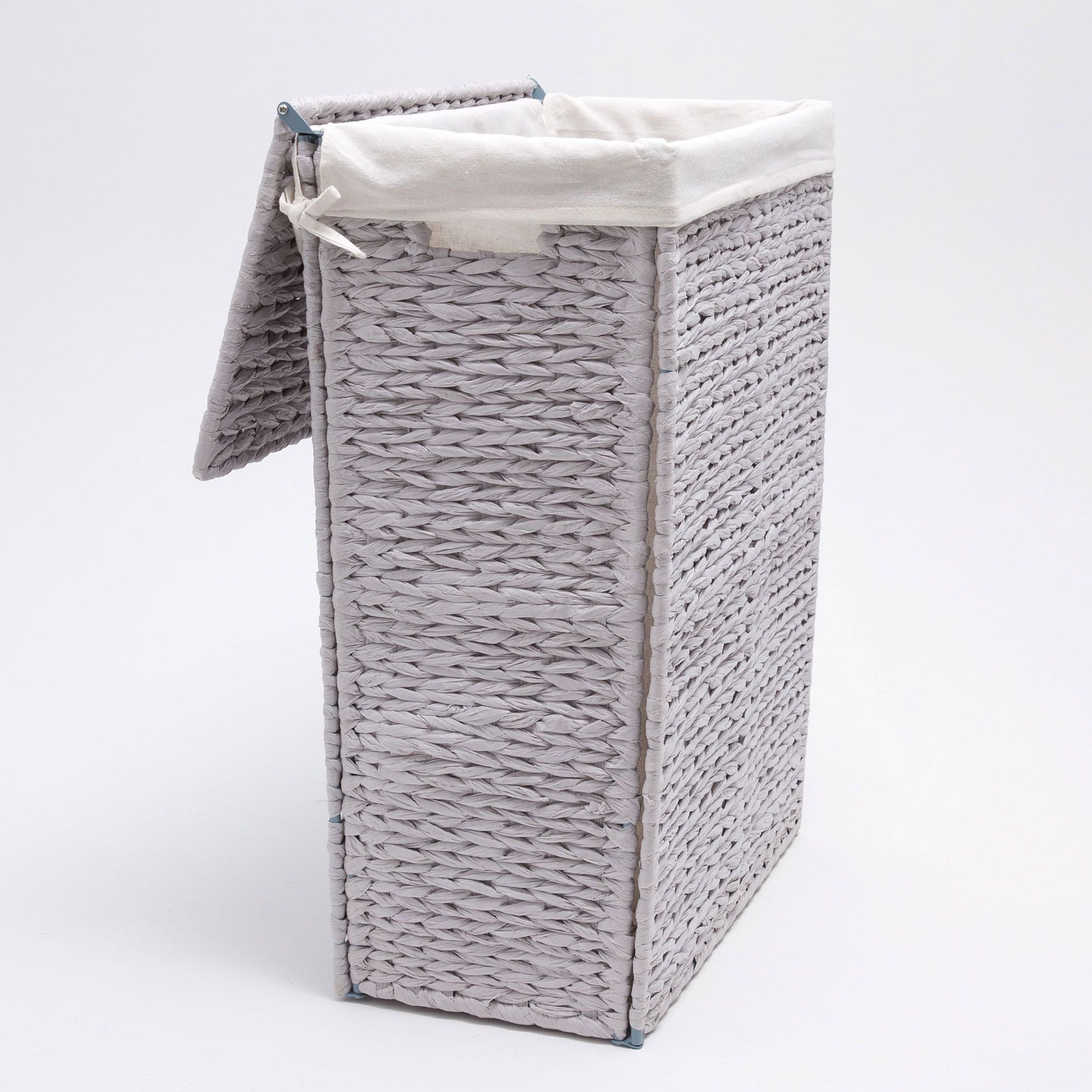 Image 6 Of The Product Light Grey Clothes Basket Grey Laundry