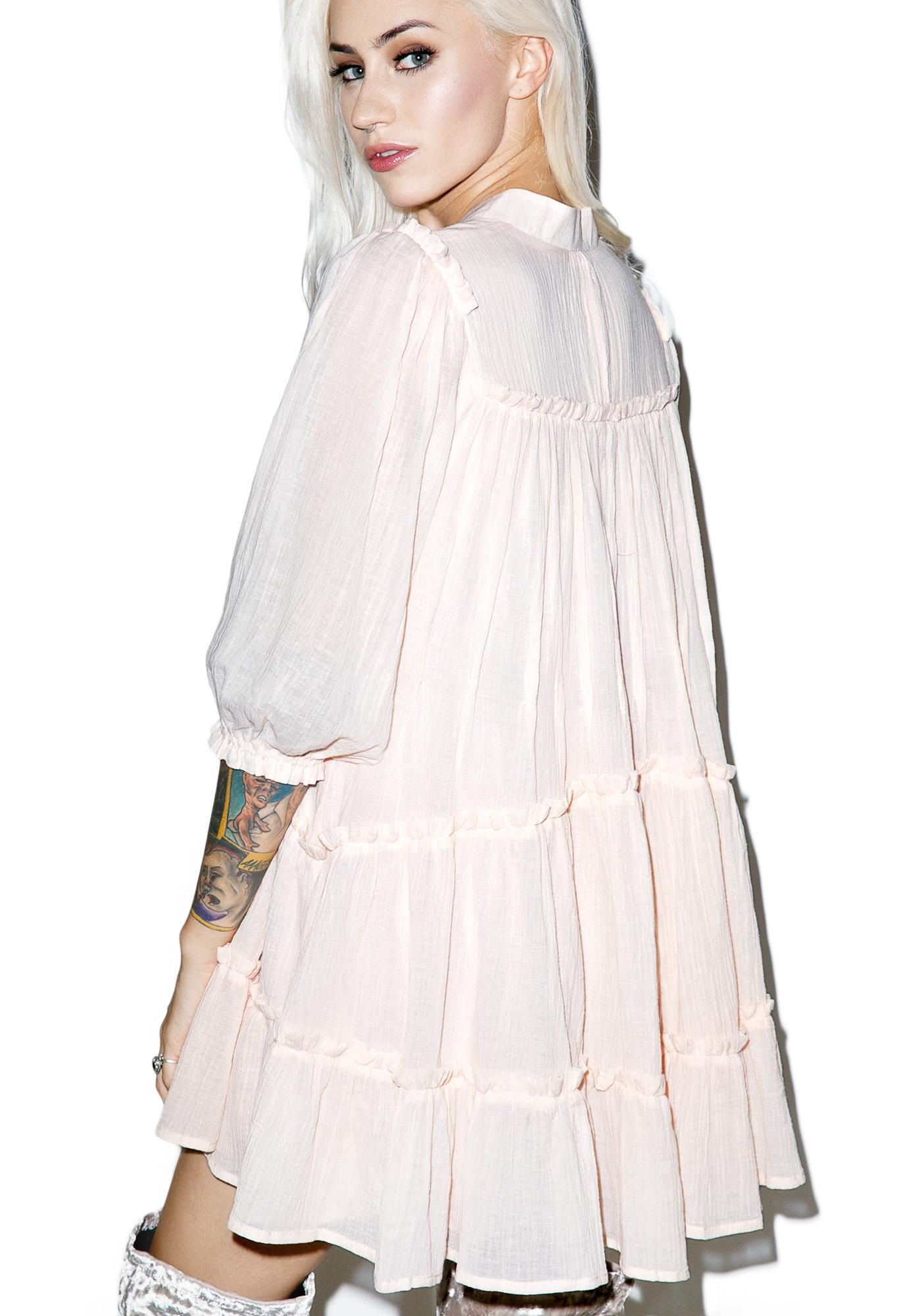 Enchanted Poet Swing Dress