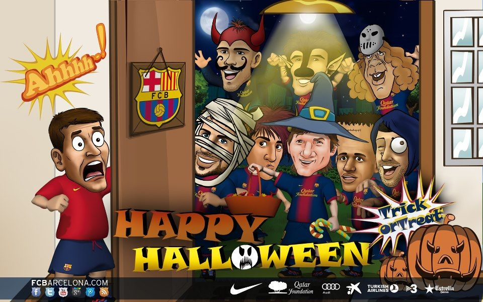 from barcelona happy halloween