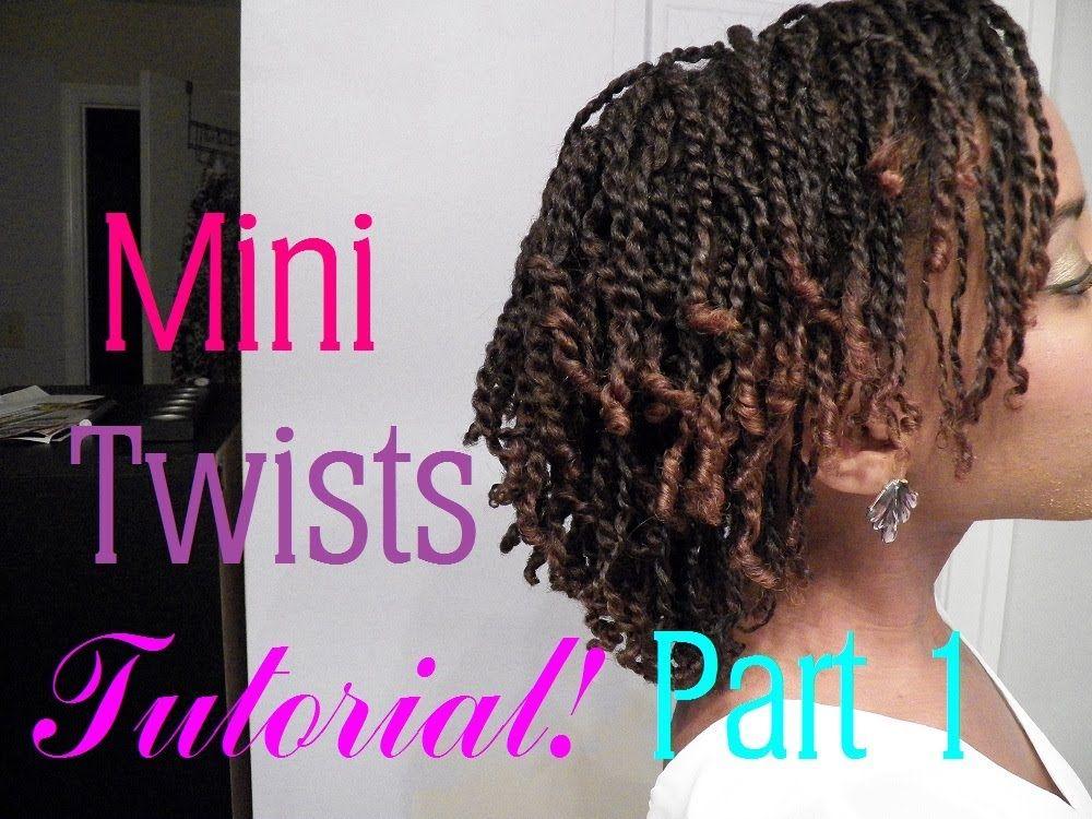 How To Do Mini Twists On Short Medium Length Natural Hair Part 1 Thin Natural Hair Natural Hair Twists Mini Twists Natural Hair