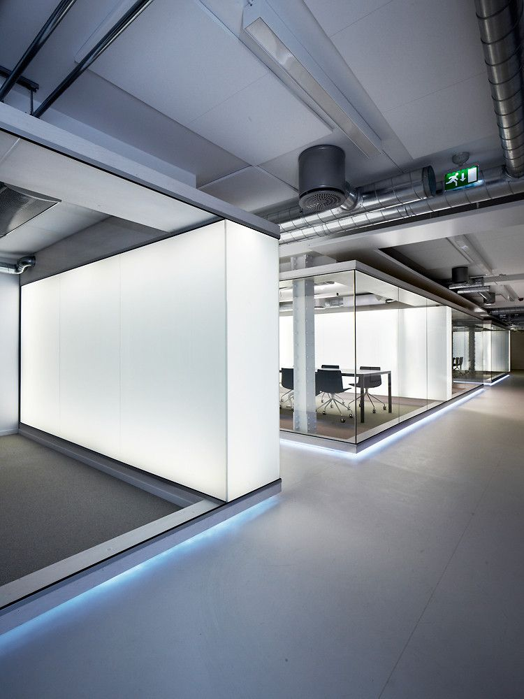 """An Open-Plan Office With A """"Monastery"""" For Quiet Reflection ..."""