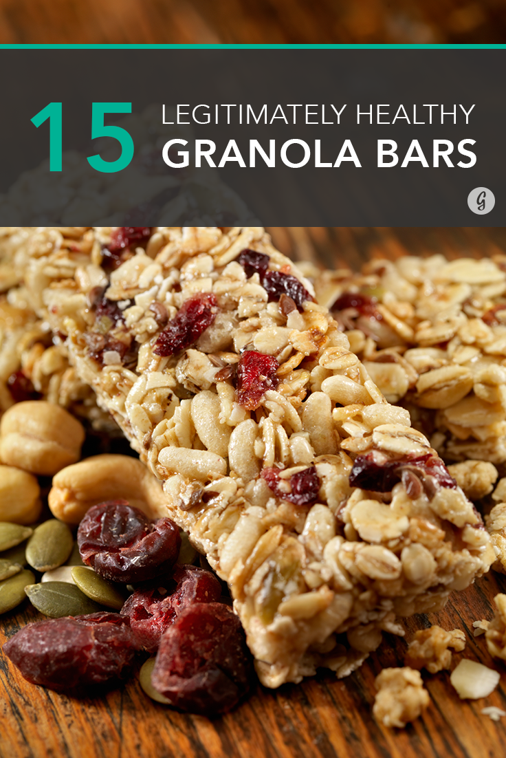 what are the healthiest granola bars
