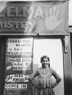 Madame Zelma's Daughter Rose  Eliot Elisofon  Provincetown