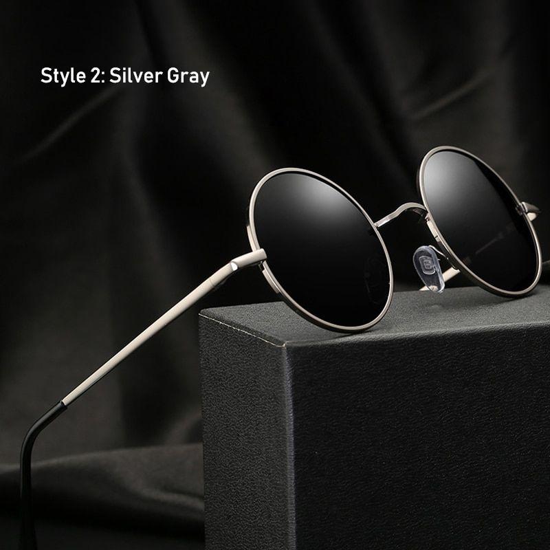 Classic Round Polarized Sunglasses Kogluxury Com Round