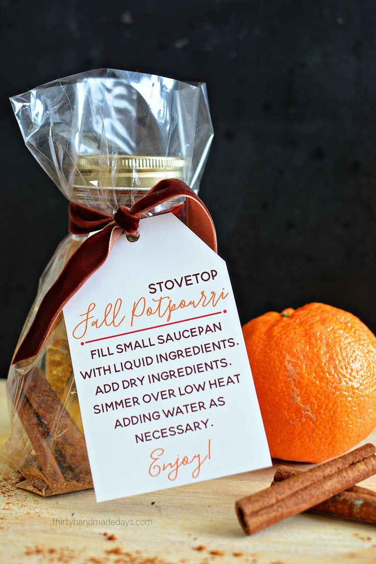 Fall Stovetop Potpourri Recipe Gifts Stove Top