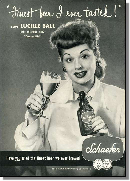 Schaefer Beer .....another one on the cheaper side