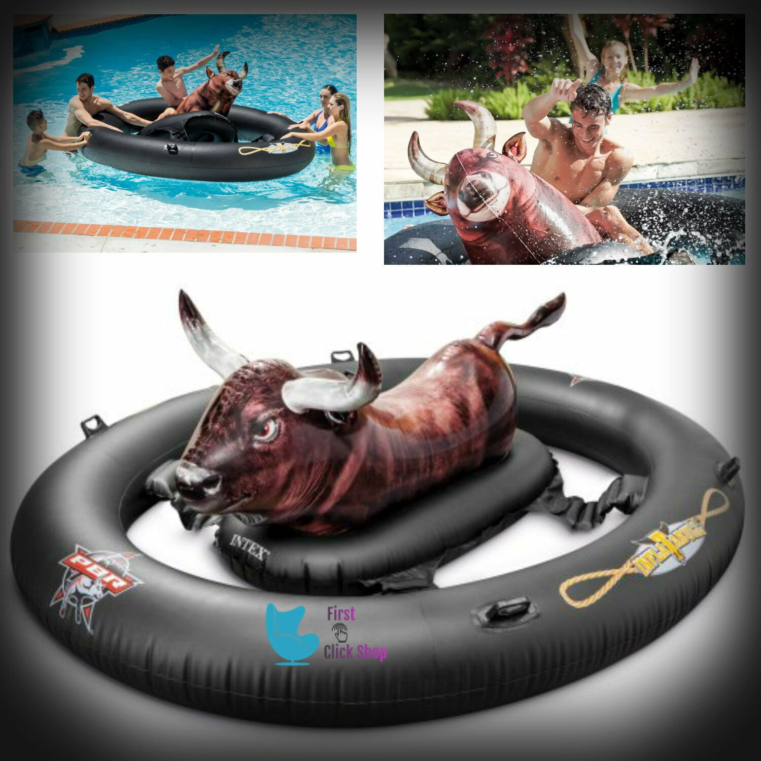 Inflatable Float Toy Fun Bull Riding Swimming Games Pool Water Giant Inflatabull Ideas Of Pool Floa In 2020 Inflatable Swimming Pool Swimming Pool Floats Pool Float