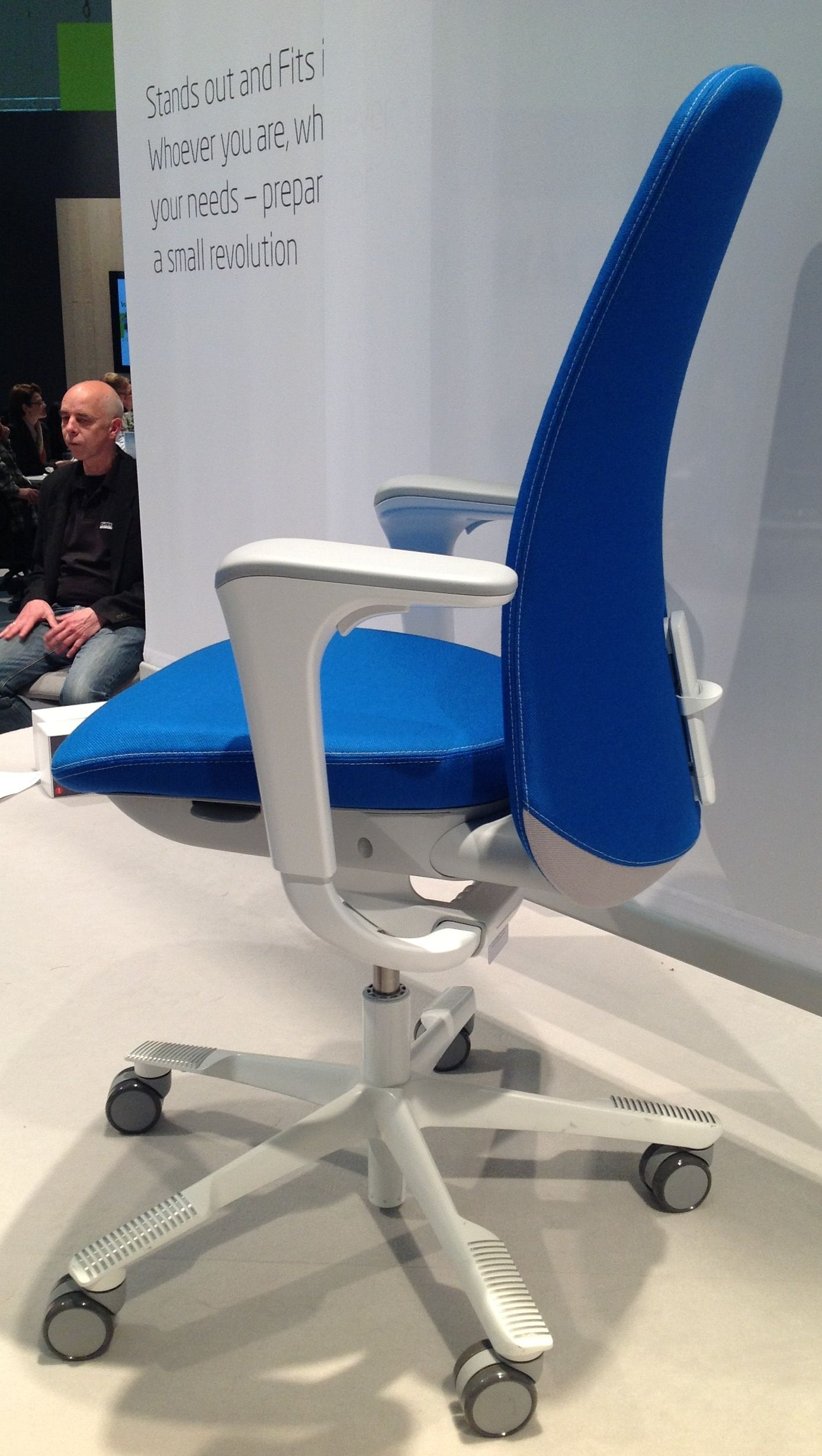 The New Hag SoFi Chair at Orgatec due for release mid 2013