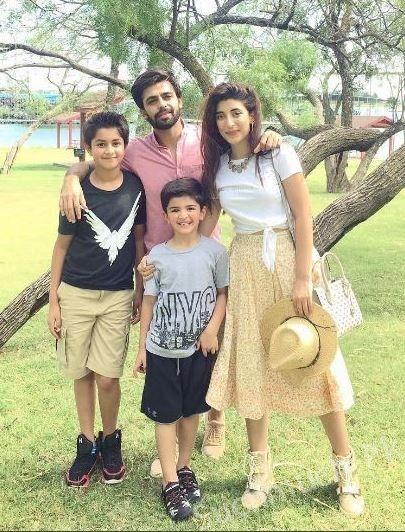Urwa Hocane And Farhan Saeed Enjoying In USA, Pakistani Celebrities