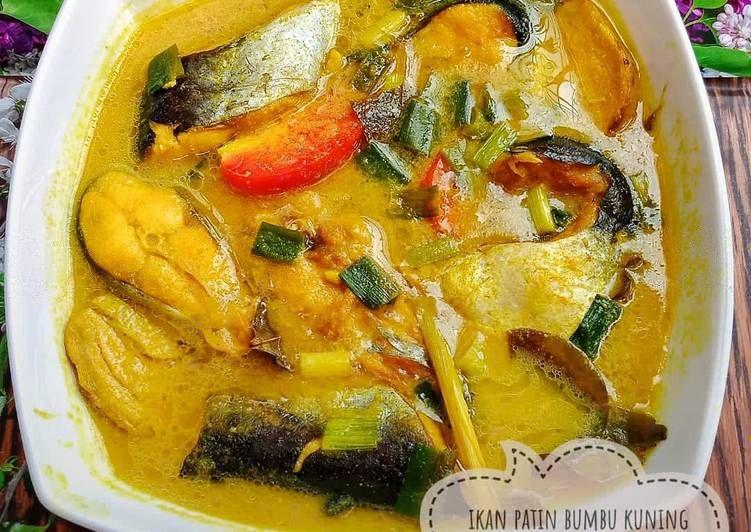 Resep Ikan Patin Bumbu Kuning Oleh Cicie Kitchen Resep Resep Resep Ikan Makanan Dan Minuman