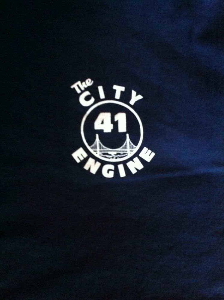 San Francisco Fire Department The City Engine 41 Xl Long Sleeve T