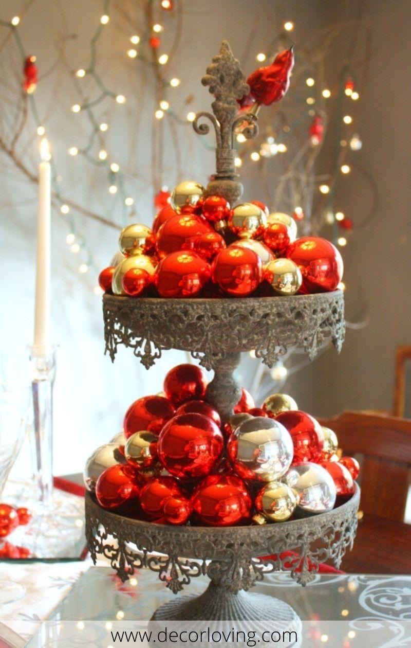 13 Fantastic Diy Christmas Table Decor Ideas For Christmas Home Decoration Christmas Table Centerpieces Diy Christmas Table Christmas Decorations Centerpiece