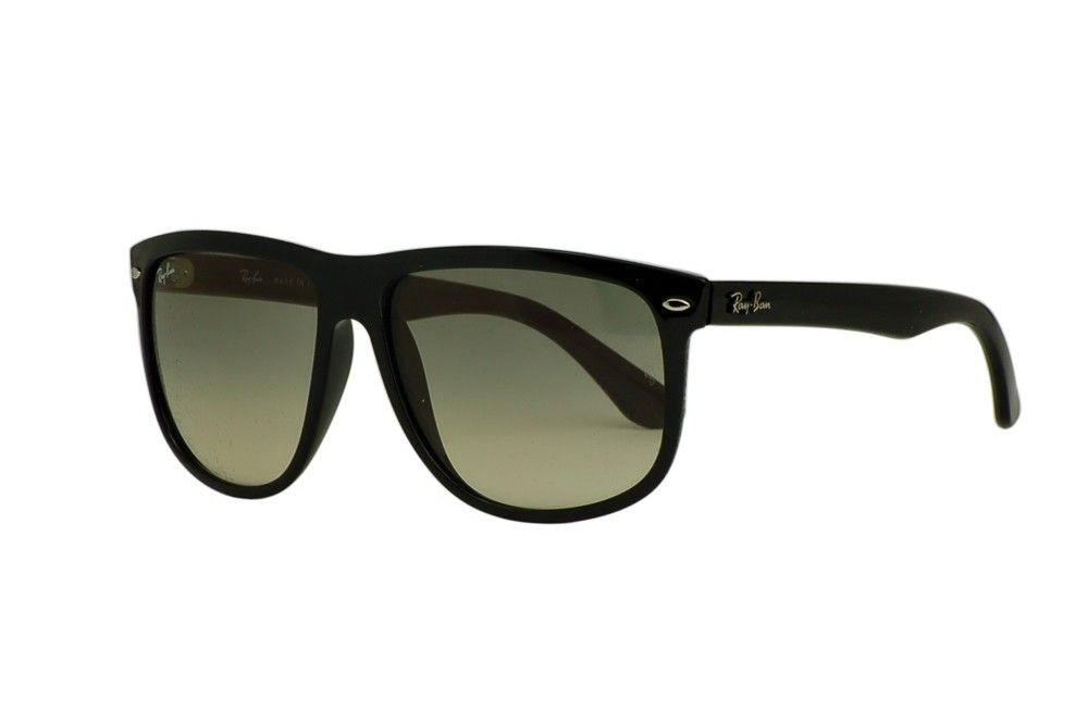 The Ray-Ban RB 4147 sunglasses have square crystal gray gradient lenses set in thick black frames.  The style of these sunglasses is somewhat reminiscent of Ray-Ban's famous wayfarer style, but with some key differences.  With their neutral, dark colors, these sunglasses will effortlessly match any attire and suit any environment.  http://www.topfashionshades.com/rb4147-60132-6015145.html  #RB4147