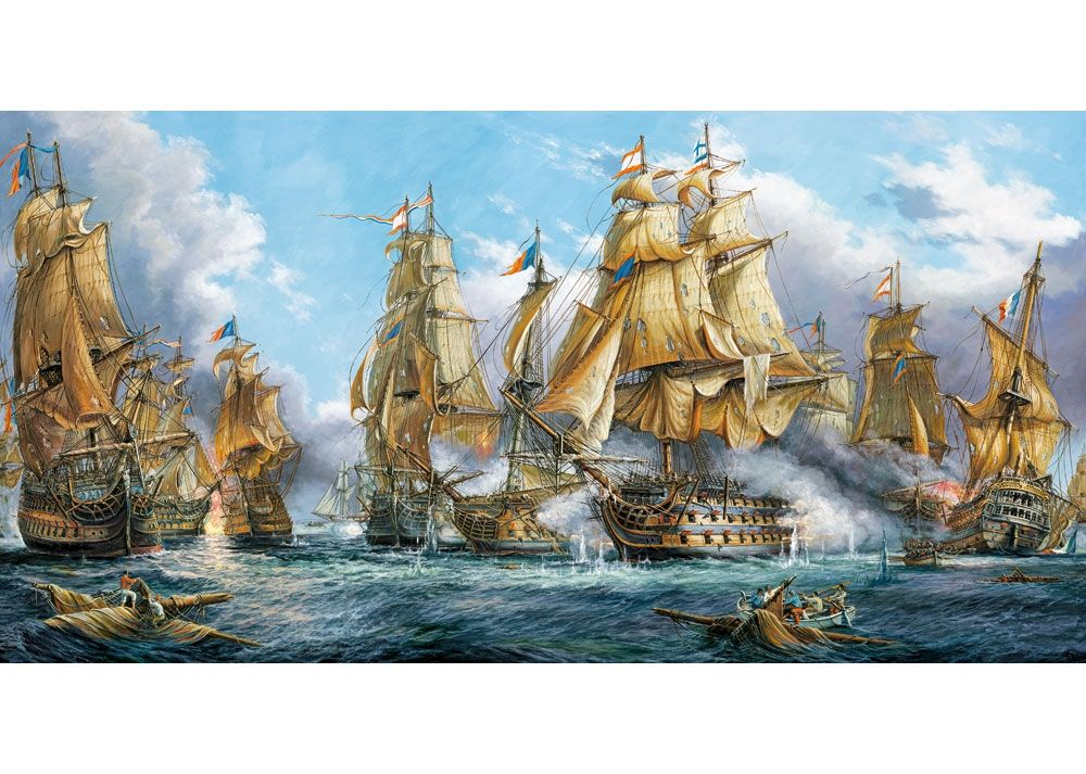 Jigsaw Puzzle By Castorland Naval Battle