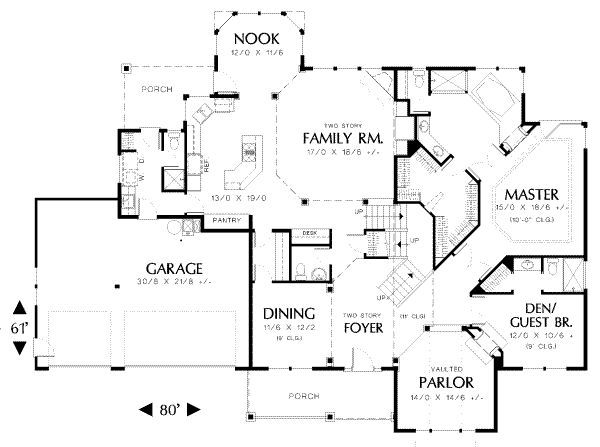 3500 Square Feet House Plans | 3500 Square Feet 4 Bedrooms Batrooms 2  Parking Space On Gallery