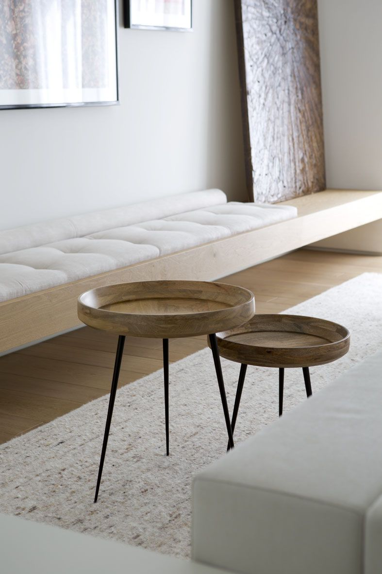 Coffeetables Livingroom Design Minimalism Mater Bowl Side  # Muebles Estilo Budista
