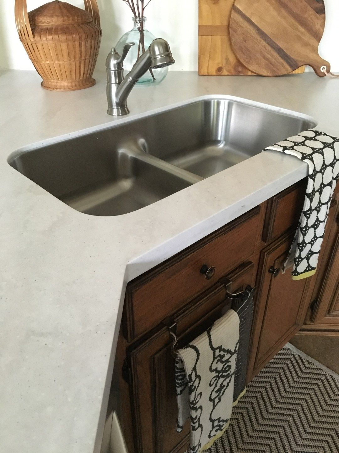 Allen Roth Solid Surface Countertop Review, Faux Marble, Marble  Alternative, Inexpensive Countertop